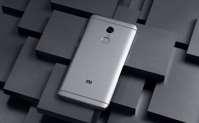 Xiaomi vybavilo lacný Redmi Note 4 až 10-jadrovým procesorom, veľkou batériou a krásnym telom z hliníku