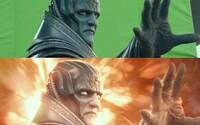 X-Men: Apocalypse pred a po pridaní CGI a špeciálnych efektov