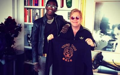 Young Thug spolupracuje s Eltonem Johnem. Na veřejnost nechtěně unikl hit roku