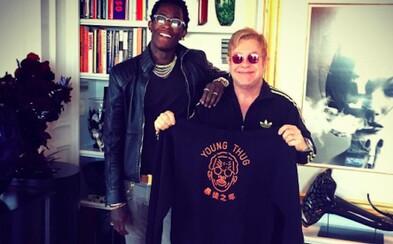 Young Thug spolupracuje s Eltonom Johnom. Na verejnosť nechtiac unikol hit roka