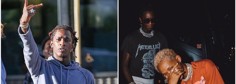 Young Thug vyřešil problémy s policií a vydává slíbené EP s Eltonem Johnem, Jadenem Smithem a 6LACKem