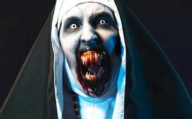 YouTube odstránil krátku reklamu na horor Mníška. Všetci sa sťažovali na to, že je až príliš desivá