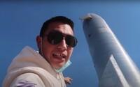 Youtuber bez povolenia vošiel do areálu spoločnosti SpaceX a nahrával si to na video. Teraz má problém