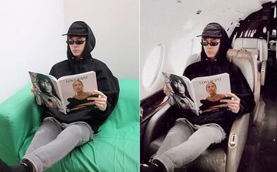 Youtuber celý týždeň fejkoval, že je extrémne bohatý. Stačili mu na to výklady Louis Vuitton a Photoshop