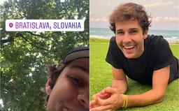 Youtuber David Dobrik je v Bratislave, hľadať ho môžeš v parku