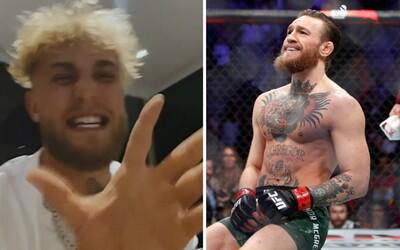 Youtuber Jake Paul se vysmál knockoutovanému Conoru McGregorovi. 50milionovou nabídku snížil na směšné minimum