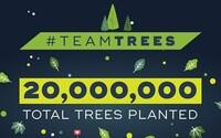 YouTuber MrBeast dosiahol svoj cieľ. Vyzbieral peniaze na vysadenie 20 miliónov nových stromov