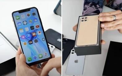 Youtuber rozebral klon nového iPhonu 12 za 150 dolarů. Fotoaparáty jsou falešné, uvnitř našel prehistorický procesor a Android