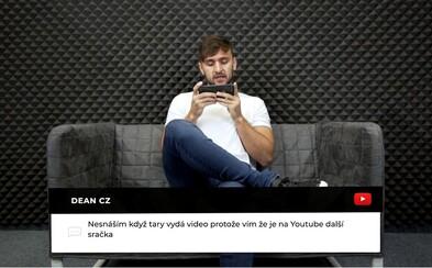 YouTuber Tary odpovídá na komentáře hejterů. Jaké urážky mu píší pod videa? (Interhejty)