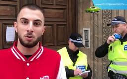 Youtubera MikeJePan zatkla policie na benzince, je podezřelý z vydírání
