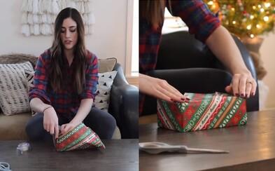 Youtuberka naučila už 18 miliónov ľudí, ako bezchybne zabaliť darčeky. Nechaj sa inšpirovať aj ty