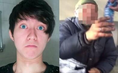 Youtuberovi hrozí dva roky za mřížemi a pokuta 30 000 eur. Kanghua vyměnil náplň v sušence za zubní pastu a podstrčil ji bezdomovci