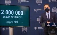 Z 200-tisíc vakcín Sputnik V Slovensko predá alebo daruje 160-tisíc, rozhodla vláda