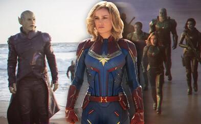 Z akého dôvodu sa Captain Marvel ocitla na Zemi a prečo udrela milú starenku priamo do tváre? Čo všetko sa dá vyčítať z traileru?