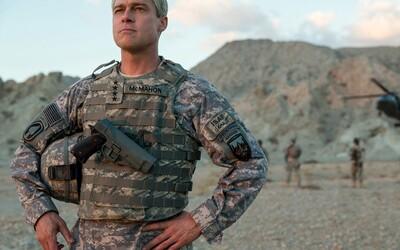 Z Brada Pitta sa vo vojnovom filme od Netflixu stáva netradičný generál, ktorý sa pokúsi zachrániť Afganistan