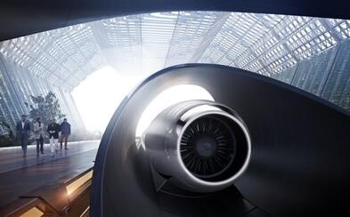 Z Bratislavy do Brna len za pár minút. Futuristický vlak Hyperloop odhaľuje ďalšiu európsku zástavku