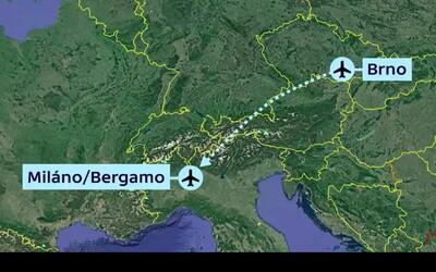 Z Brna si nově zaletíte i do Milána. Pravidelná linka bude fungovat dvakrát týdně