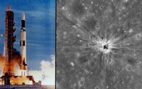 Z dôvodu poruchy stratili na Mesiaci nosnú raketu a našli ju až po dlhých 43 rokoch