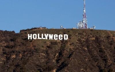 Z Hollywoodu se stal Hollyweed. Neznámý vtipálek během Silvestra pozměnil legendární nápis