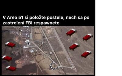 Z iniciativy vběhnout na základnu Area 51 si dělá celý internet srandu. Toto jsou nejlepší memes