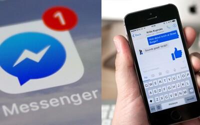 Z Messengeru budeš môcť zmazať odoslanú správu do 10 minút
