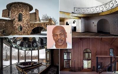 Z opuštěného a chátrajícího sídla, kde dříve žil a choval tygry Mike Tyson, se stane kostel