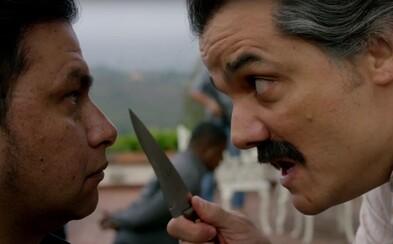 Z Pabla Escobara nešiel v Narcos nikdy taký strach ako v nervydrásajúcej upútavke plnej nenávisti a odplaty