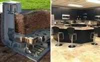 Z protiatomového bunkru se stalo útulné bydlení za 17,5 milionu dolarů. Má vlastní kino, hernu a vydrží i nukleární explozi