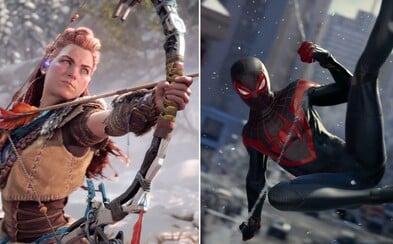 Z prvních her pro PlayStation 5 ti spadne čelist! Sleduj trailery na revoluci v grafice: Horizon 2 či pokračování Spider-Mana