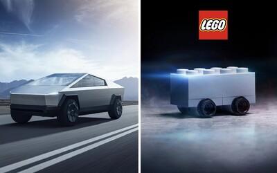Z Tesly si dělá srandu už i Lego. Vypadá tento Cybertruck lépe než Muskův návrh?
