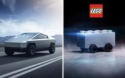 Z Tesly si robí srandu už aj Lego. Vyzerá tento Cybertruck lepšie ako Muskov návrh?