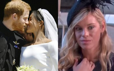 Z tváre Harryho bývalej frajerky sa na kráľovskej svadbe stalo vtipné meme. Chelsy možno mala výrazné výhrady voči zväzku