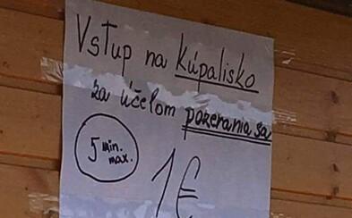 Za 1 euro môžeš v Košiciach očumovať ľudí na kúpalisku. Špeciálny lístok na pozeranie ti umožní vstup na 5 minút