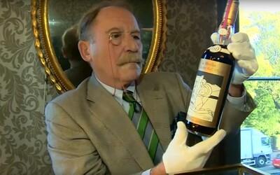 Za 24,8 milionu korun byla vydražena nejdražší whisky v historii