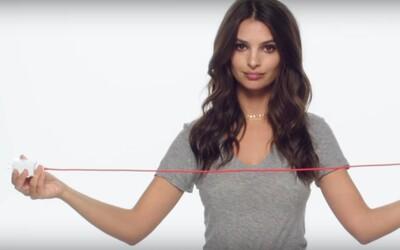 Za 30 minút až 60 % batérie. Pôvabná Emily Ratajkowski ti vysvetlí, ako funguje nabíjanie v smartfóne OnePlus 3T