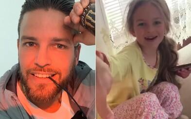 Za Ega odrapovala celou #Hot16Challenge jeho dcera. Rodí se nová slovenská rapová hvězda?