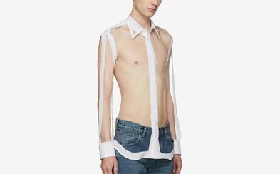 "Margiela chce za tuhle ""košili"" 24 000 Kč"