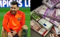 Za hodinu 4-tisíc eur v čistom. Lionel Messi sa po podpise nového kontraktu na peniaze sťažovať nemusí, dostal aj 100 miliónový bonus