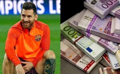 Za hodinu 4 tisíce eur čistého. Lionel Messi si po podpisu nového kontraktu na peníze stěžovat nemusí, dostal i 100milionový bonus