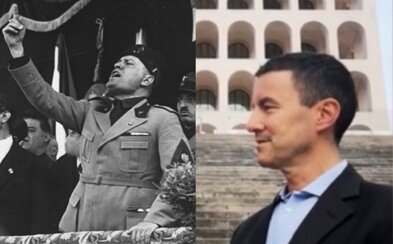 Za italskou ultrapravicovou stranu kandiduje Mussoliniho vnuk. Jmenuje se Caius Julius Caesar