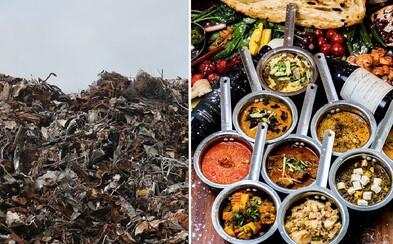 Za kilo odpadu dostanú bezdomovci výdatne najesť. Kaviareň v Indii bojuje proti chudobe aj znečisteniu
