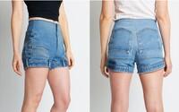 Za netradičné šortky a džínsy ušité naopak si značka pýta cez 400 eur. Kolekcia sa má odvíjať od kultového seriálu Stranger Things