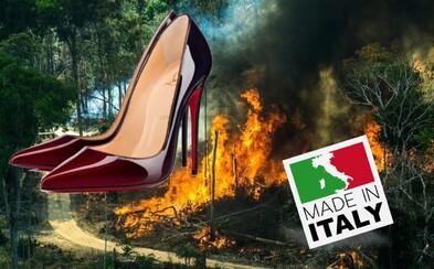 Za požiarmi v Amazonskom pralese stojí aj módny priemysel