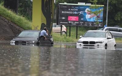 Za prívalové dažde na Slovensku môže globálne otepľovanie, potvrdili to aj klimatológovia