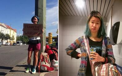 Za rok prešla stopom zo Štokholmu do Kuala Lumpur a osud ju zaviedol aj na Slovensko. Petrina mala len 200 dolárov, ale dokázala to