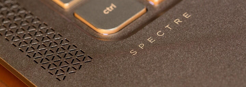 Za Spectre 13 by sa nehanbilo ani Apple. S hrúbkou iba 1 cm patrí medzi najtenšie notebooky na svete