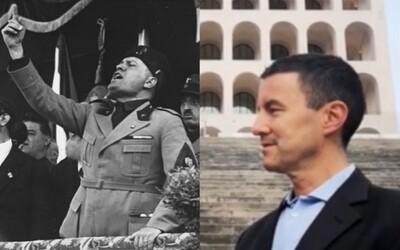 Za taliansku ultrapravicovú stranu kandiduje Mussoliniho vnuk. Volá sa Caius Julius Caesar
