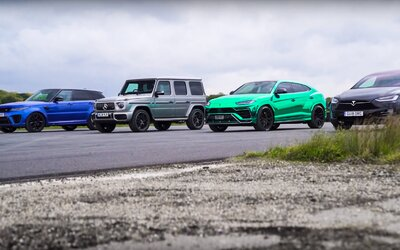 Za volant super-výkonných SUV-čiek sadli známe tváre. Ako dopadlo meranie síl?