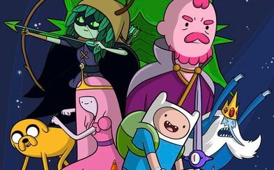 Zábavný fantasy animák Adventure Time vstupuje do veľkého finále. Hrdinov na mystickom ostrove čaká ich najväčší boj
