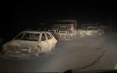 Zábery z požiarom zničených oblastí v USA vyzerajú ako scény z postapokalyptického filmu